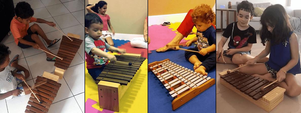 Na iniciação musical, os instrumentos melódicos cumprem um importante papel